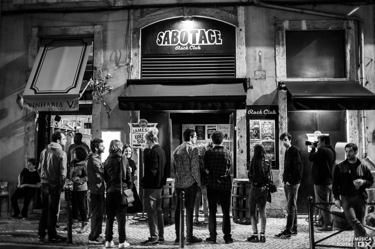 Sabotage Rock Club Lisboa Lisbon