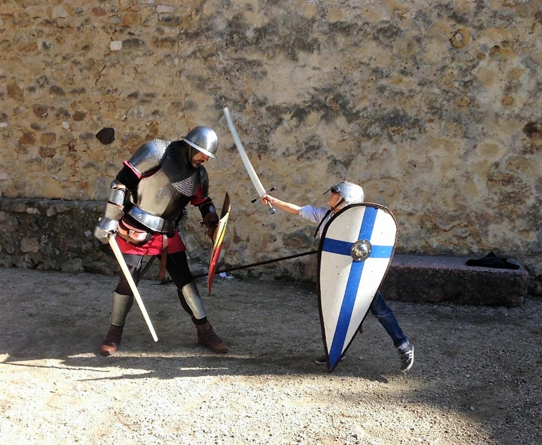 War arts at Saint Jorge Castle
