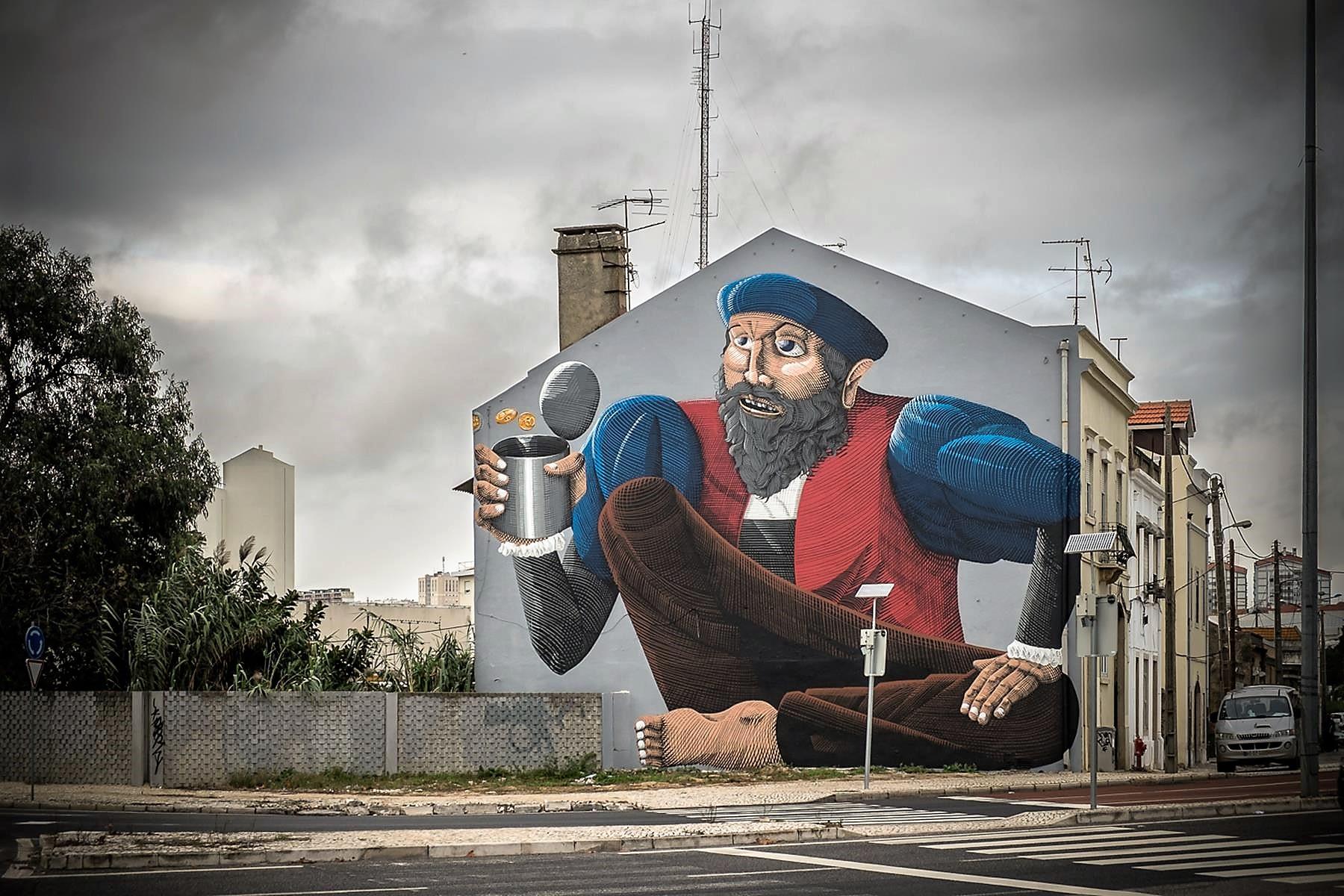 jose vicente Lisbon Street art