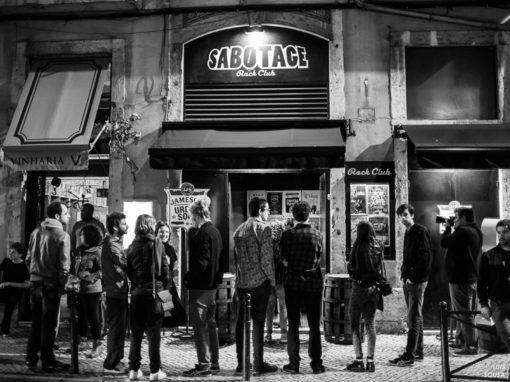 Noites memoráveis no Sabotage em Lisboa