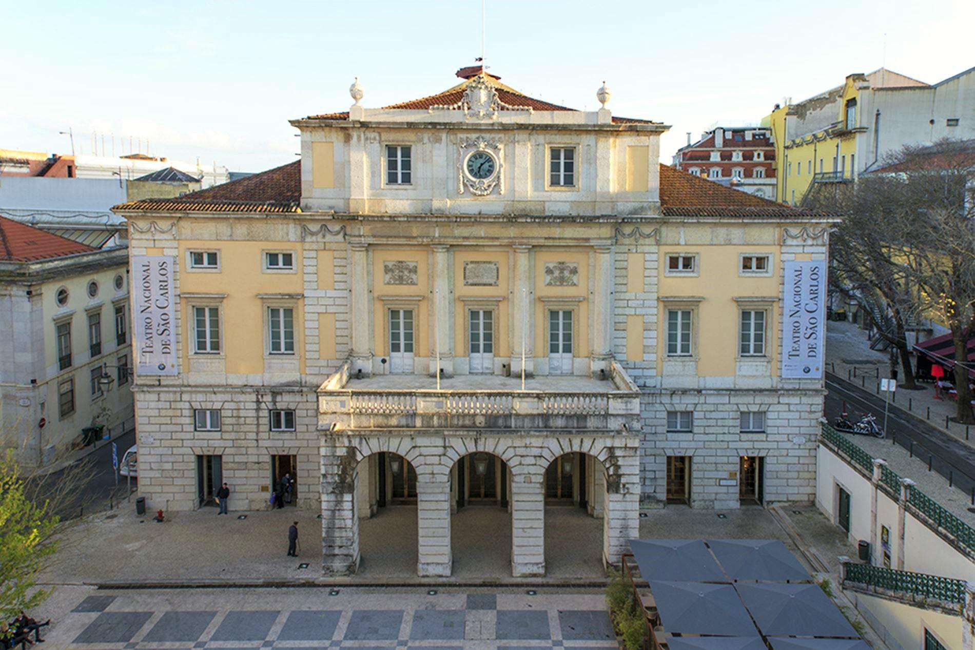 Teatro Nacional São Carlos - vista exterior