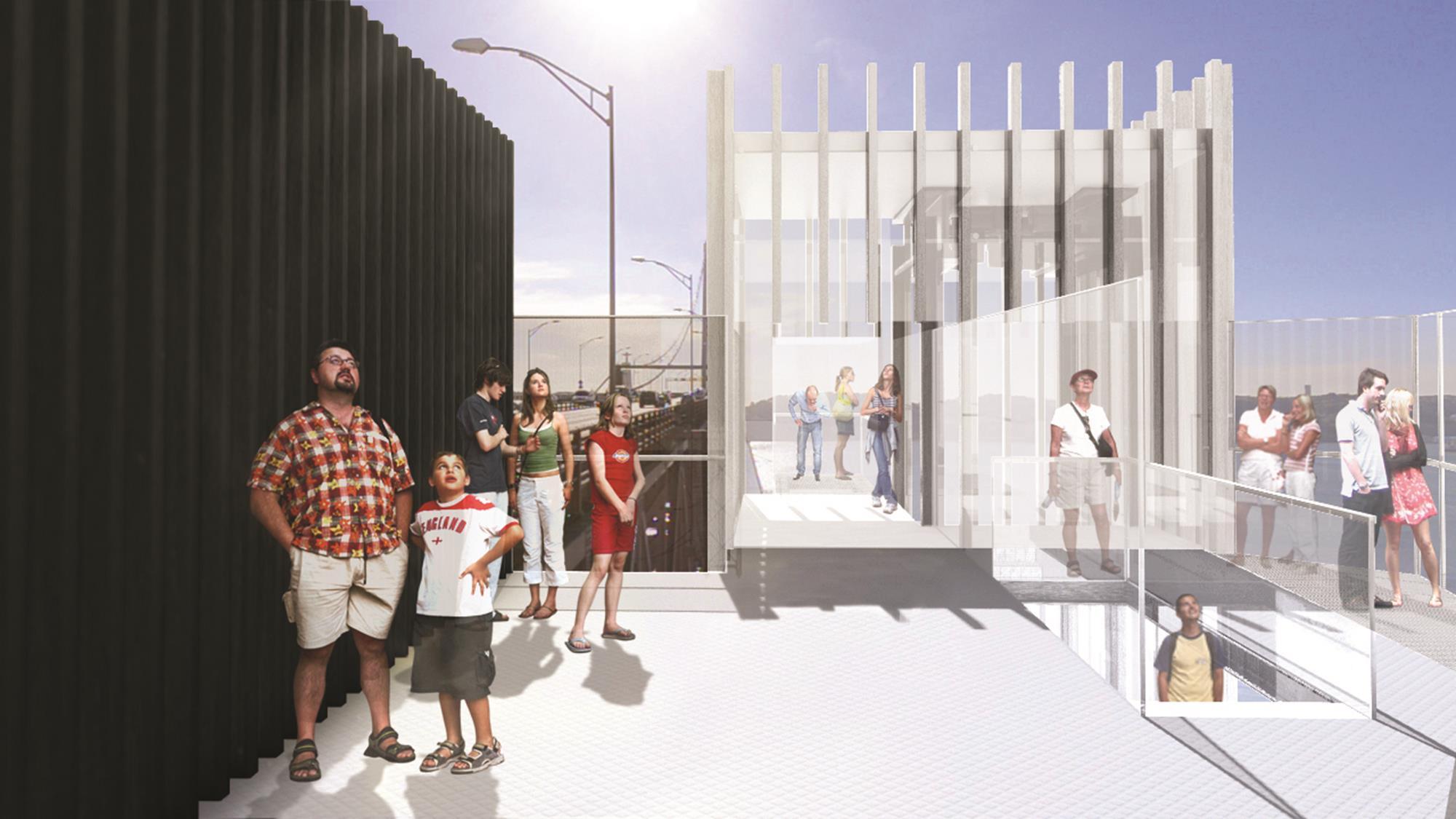 Centro Interpretativo da Ponte 25 Abril_ ©Imagens Projeto P-06 Atelier (12) (Copy)