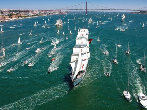 Tall Ships Races. The greatest adventure of the seven seas in Lisbon