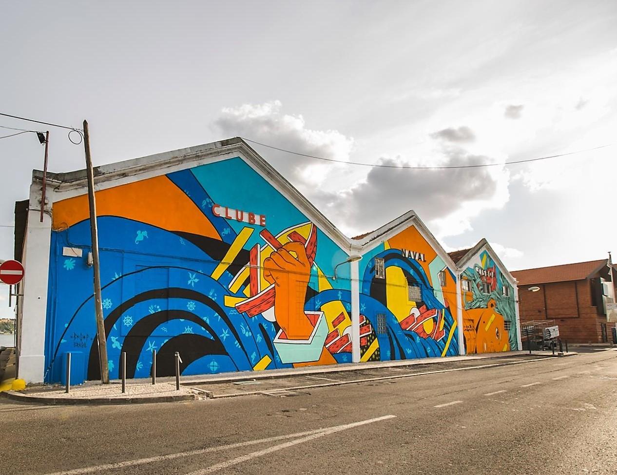 Rui Gaiola Street urban art lisbon