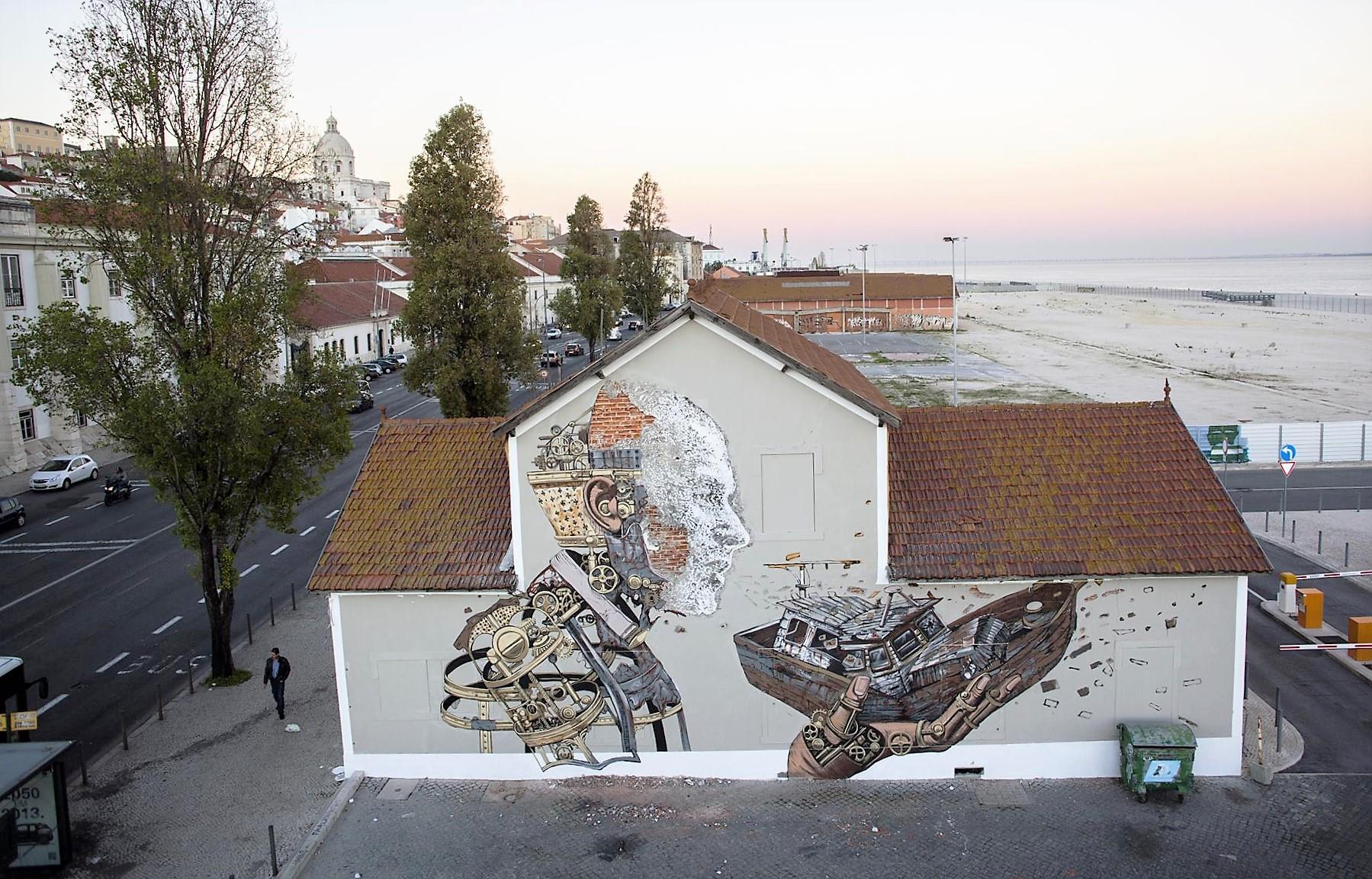 Pixel&vhils street urban art lisbon 5