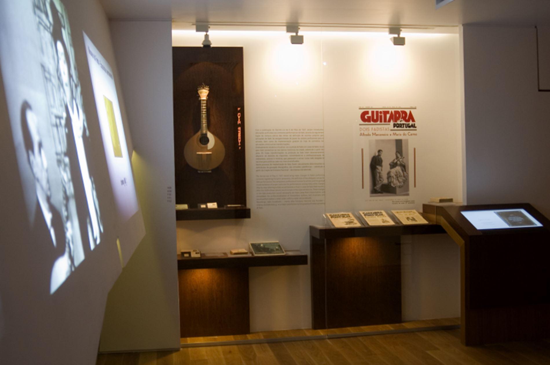 Inside Fado Museum