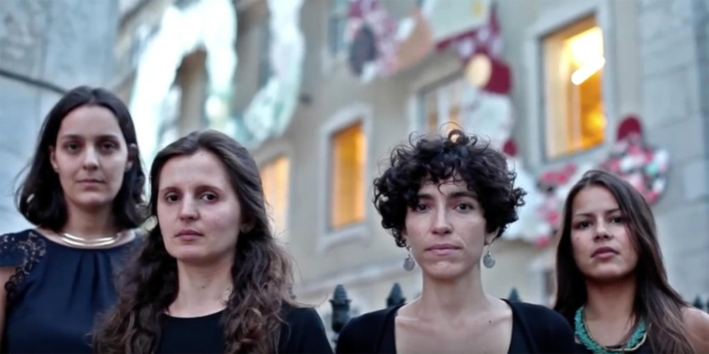 Ana Velez, Joana Gomes, Maria Sassetti and Xana Sousa